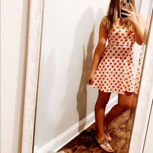 forever 21 floral dress with cute tie in the back